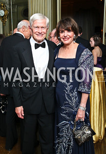 Photo by Tony Powell. Fred and Marlene Malek. Meridian Ball 2010. Meridian Intl. Center. October 1, 2010