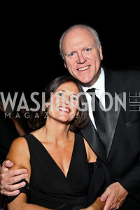 Photo by Tony Powell. Casey Crowley and Congressman Joe Crowley. Meridian Ball 2010. Meridian Intl. Center. October 1, 2010