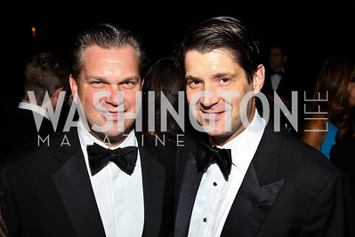 Photo by Tony Powell. Tim Lohnes, David Wilson. Meridian Ball 2010. Meridian Intl. Center. October 1, 2010