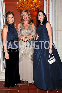 Photo by Tony Powell. Nancy Taylor Bubes, Sarah Thorn, Rochelle Lipsitz. Meridian Ball 2010. Meridian Intl. Center. October 1, 2010