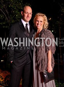 Photo by Tony Powell. Dan Sallick, Elizabeth Miller. Meridian Ball 2010. Meridian Intl. Center. October 1, 2010