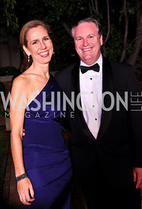 Photo by Tony Powell. Julia Farr, George Peacock. Meridian Ball 2010. Meridian Intl. Center. October 1, 2010