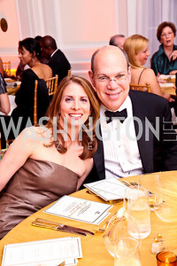 Photo by Tony Powell. Drs. Susan Ascher and Paul Kalb. Meridian Ball 2010. Meridian Intl. Center. October 1, 2010