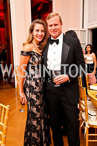 Photo by Tony Powell. Heather and Phil Musser. Meridian Ball 2010. Meridian Intl. Center. October 1, 2010