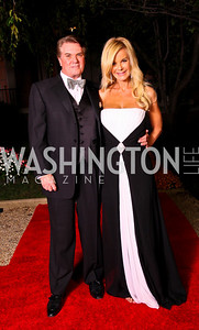 Photo by Tony Powell. Jack and Susanna Quinn. Meridian Ball 2010. Meridian Intl. Center. October 1, 2010