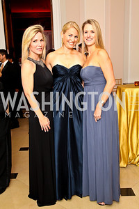 Photo by Tony Powell. Annie Magruder, Missy Walker, Jennifer Sprague. Meridian Ball 2010. Meridian Intl. Center. October 1, 2010