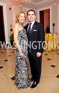 Photo by Tony Powell. Sloane and Nate Hurst. Meridian Ball 2010. Meridian Intl. Center. October 1, 2010
