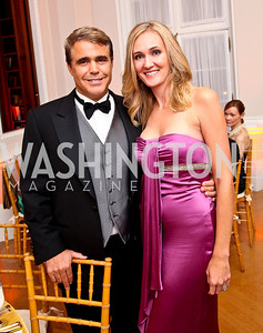 Photo by Tony Powell. Fred and Britlan Malek. Meridian Ball 2010. Meridian Intl. Center. October 1, 2010