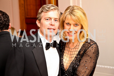 Photo by Tony Powell. Chris and Michelle Olson. Meridian Ball 2010. Meridian Intl. Center. October 1, 2010
