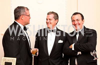 Photo by Tony Powell. Patrick Dorton, Nels Olson, K. Andrew Sprague. Meridian Ball 2010. Meridian Intl. Center. October 1, 2010