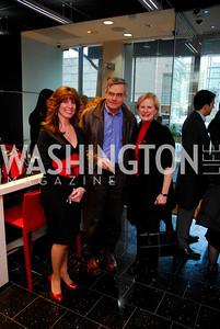Jill Alexander, Joe Black, Lisa Olson. Mona Taner Heart Event. February 13,2010. Photo by Kyle Samperton.