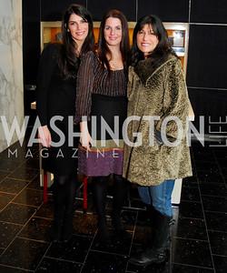 Jennifer Hayman, Mona Tanner, Joan Hayman. Mona Taner Heart Event. February 13,2010. Photo by Kyle Samperton.