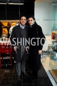 Reza Sanai, Nadine Sanai. Mona Taner Heart Event. February 13,2010. Photo by Kyle Samperton.