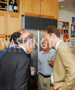 Kyle Samperton,More Money Than God Book Party,June 18,2010,Alan Greenspan,Toby Moffet,Sebastian Mallaby