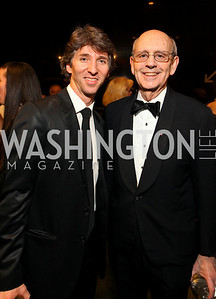 Dancer Damian Woetzel and Supreme Court Justice Stephen Breyer. Photo by Tony Powell. Dinner in honor of the 2009 Recipients of the National Medal of Arts and the National Humanities Medal. Museum of American History. February 24, 2010
