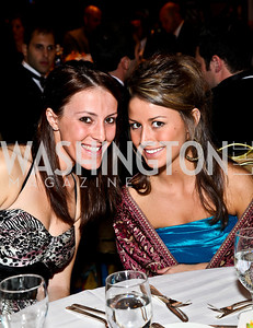 Photo by Tony Powell. Katharine Minite, Paige Prestipino. NIAF Gala. October 23, 2010