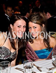 Photo by Tony Powell. Katharine Minite, Paige Prestipino. NIAF Gala. October 23, 2010