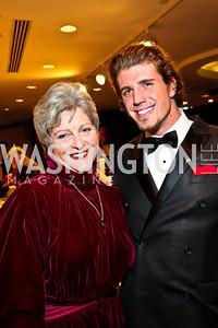 Photo by Tony Powell. Martha-Ann Alito, Andrew Pagliara. NIAF Gala. October 23, 2010