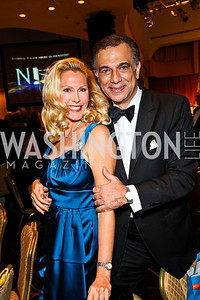 Photo by Tony Powell. Christie Nightingale, Joseph Fichera. NIAF Gala. October 23, 2010