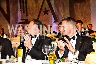 Photo by Tony Powell. Justice Samuel Alito, General Peter Pace. NIAF Gala. October 23, 2010