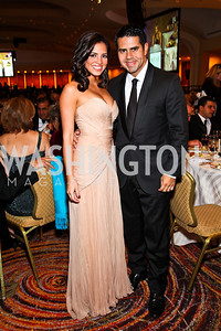 Photo by Tony Powell. Pamela and Cesar Conde. NIAF Gala. October 23, 2010