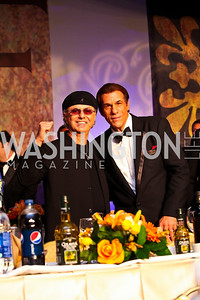 Photo by Tony Powell. Dion, Robert Davi. NIAF Gala. October 23, 2010