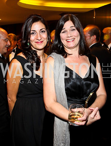Photo by Tony Powell. Rose Fiorentino and Actress Linda Fiorentino. NIAF Gala. October 23, 2010