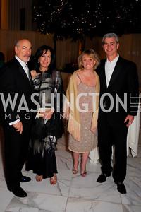 Ross Hechinger,  Susan Hechinger, Michelle Green, John Green, National Children's Museum 2010 Gala, December 2, 2010, Kyle Samperton