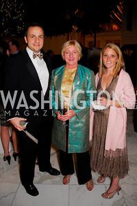 Paul Bonner, Kate Snowden, Elizabeth Snowden, National Children's Museum 2010 Gala, December 2, 2010, Kyle Samperton