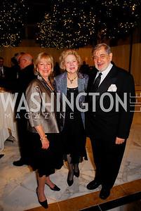 Bonnie Risse, Beth Newburger, Richard Schwartz, National Children's Museum 2010 Gala, December 2, 2010, Kyle Samperton
