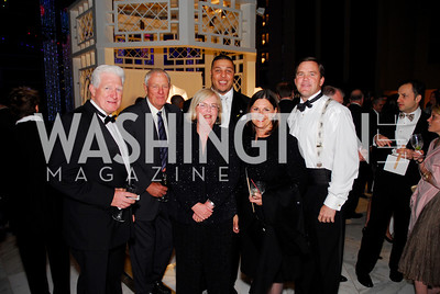 Jim Moran, Mitt Peterson, Kathy Southern, Jay Walker, LuAnn Bennett, John Peterson, National Children's Museum 2010 Gala, December 2, 2010, Kyle Samperton