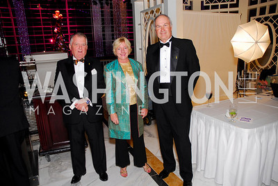 Dick Snowdon, Kate Snowdon, Frank Pisch, National Children's Museum 2010 Gala, December 2, 2010, Kyle Samperton