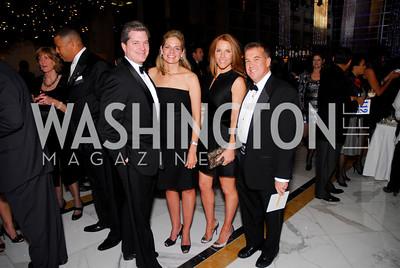 Nels Olson, Kristen Olson, Sharon Dougherty, Huck O'Connor, National Children's Museum 2010 Gala, December 2, 2010, Kyle Samperton