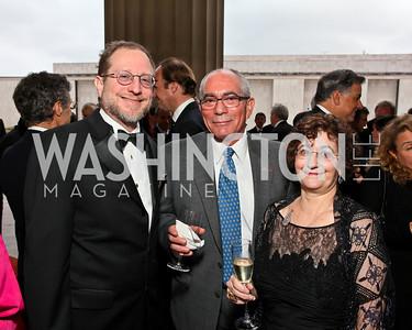 Steven Grossman, NORD Board Treasurer Stephen Bajardi, Barbara Barris. rPhoto by Tony Powell. NORD Gala. Mellon Auditorium. May 18, 2010