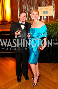 Peter and Candice Tenber. Photo by Tony Powell. NORD Gala. Mellon Auditorium. May 18, 2010