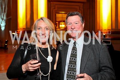 Fran Olson, Ken Greathouse. Photo by Tony Powell. NORD Gala. Mellon Auditorium. May 18, 2010