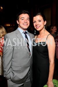 Stephen Marmaras, Larissa Trociuk. Photo by Tony Powell. NORD Gala. Mellon Auditorium. May 18, 2010
