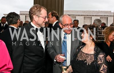 Steven Grossman, NORD Board Treasurer Stephen Bajardi, Barbara Barris. Photo by Tony Powell. NORD Gala. Mellon Auditorium. May 18, 2010
