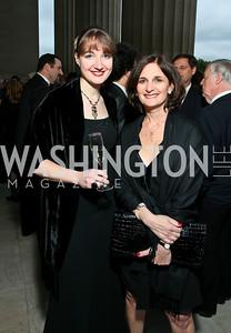 Sharon Ashton, Sally Young. Photo by Tony Powell. NORD Gala. Mellon Auditorium. May 18, 2010