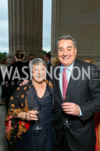Marlene Haffner, Michael Imperiale. Photo by Tony Powell. NORD Gala. Mellon Auditorium. May 18, 2010