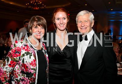 Photo by Tony Powell. Night of Heroes Gala. Ritz Carlton. June 3, 2010. Marlene Malek, Allison Barber, Dawn Halfaker, Fred Malek