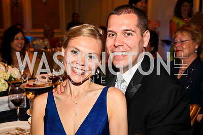 Photo by Tony Powell. Night of Heroes Gala. Ritz Carlton. June 3, 2010. Christina and Chris Martin