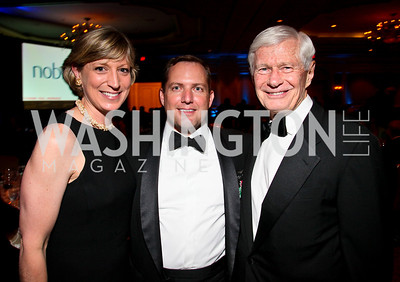 Photo by Tony Powell. Night of Heroes Gala. Ritz Carlton. June 3, 2010. Jane-Scott Cantus, James Schenck, Fred Malek