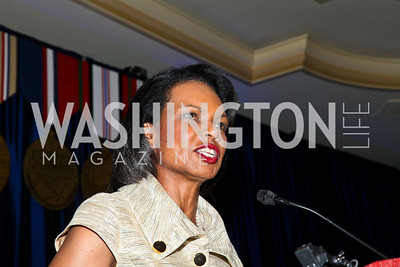 Photo by Tony Powell. Night of Heroes Gala. Ritz Carlton. June 3, 2010. Condoleeza Rice