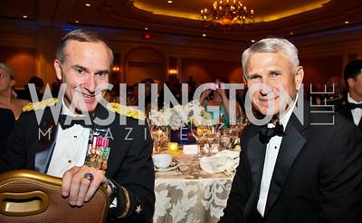 Photo by Tony Powell. Night of Heroes Gala. Ritz Carlton. June 3, 2010. Lt. Gen. David Huntoon, Lt. Gen. Paul Mikolashek