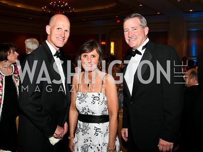 Photo by Tony Powell. Night of Heroes Gala. Ritz Carlton. June 3, 2010. Linden Barber, Lisa Schenck, Tom Sweeney