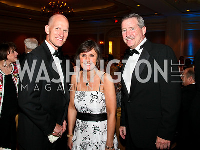 Photo by Tony Powell. Night of Heroes Gala. Ritz Carlton. June 3, 2010. Linden Barber, Lisa Schenck, Tom Sweeney