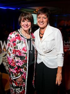 Photo by Tony Powell. Night of Heroes Gala. Ritz Carlton. June 3, 2010. Marlene Malek, Allison Barber