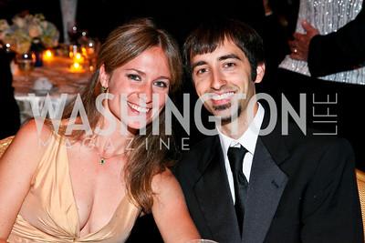 Photo by Tony Powell. Night of Heroes Gala. Ritz Carlton. June 3, 2010. Sandrine Silverman, Alfred Schoeninger