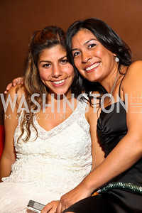 Photo by Tony Powell. Elisa Montoyo, Laura Marquez. Noche de Gala 2010. Mayflower Hotel. September 14, 2010
